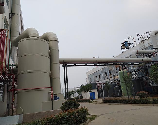 pp废气处理设备喷淋塔