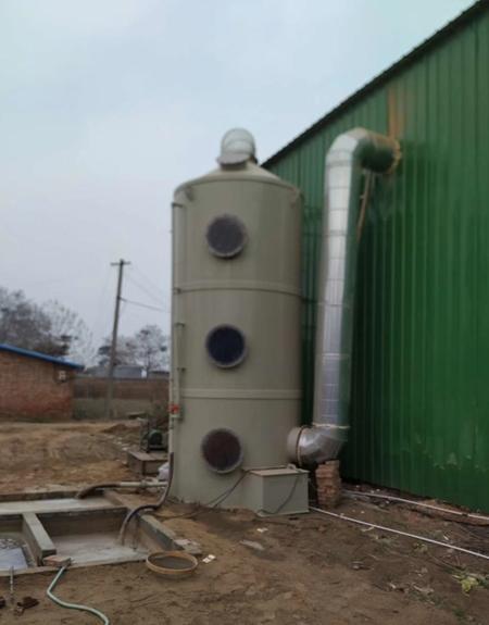 PP喷淋塔设备应用案例