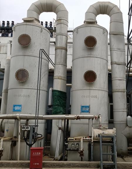 河南PP喷淋塔环保设备